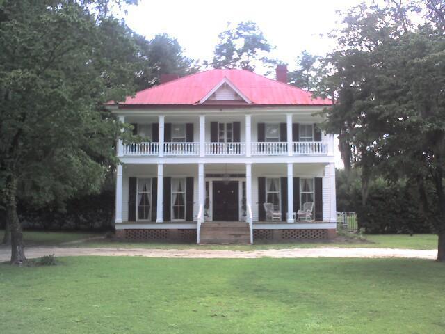 Historic Southern Mansion Plantation Properties Land