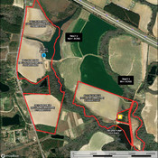 Detailed Aerial - Tract 1 & 2