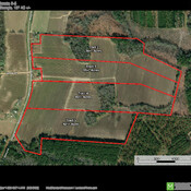 Aerial Map - Divided Tracts 2-5