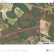 Aerial Map Tracts 1-10