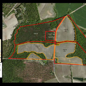 170 acres, Tracts A,B,C,D,E